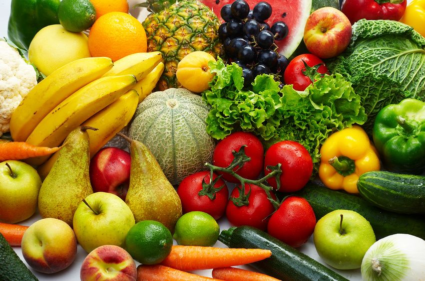Fruits and Vegetables for a Healthy and Optimum Life