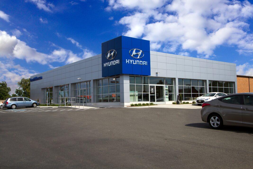 Hyundai car dealership