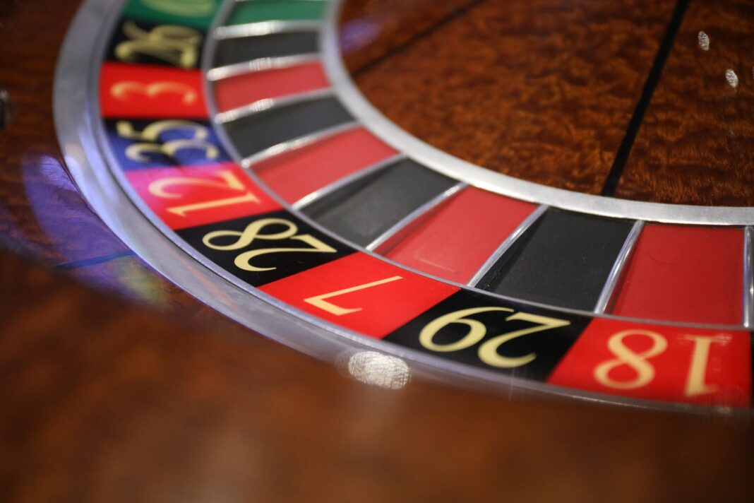 close up shot of a roulette